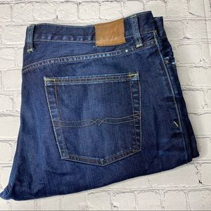 Lucky Brand 361 Vintage Straight Jeans 40x36 Dark